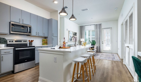 Legacy Universal Model Home Kitchen
